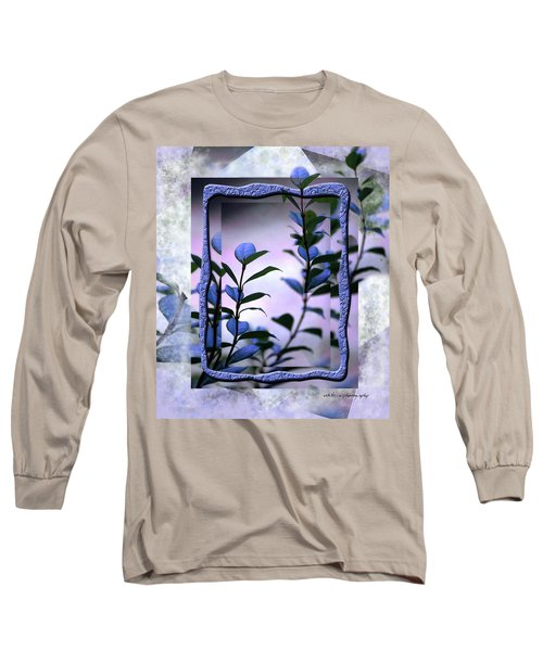 Long Sleeve T-Shirt featuring the digital art Let Free The Pain by Vicki Ferrari