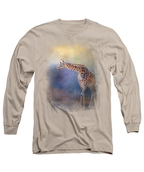 Let The Sun Shine In Long Sleeve T-Shirt by Jai Johnson