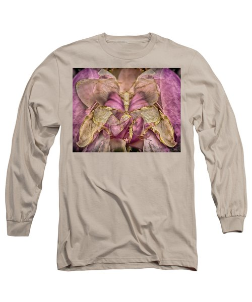 Lether Butterfly Or Not Long Sleeve T-Shirt