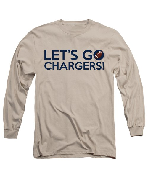 Let's Go Chargers Long Sleeve T-Shirt