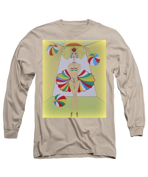 Let's Play Balls Long Sleeve T-Shirt by Marie Schwarzer