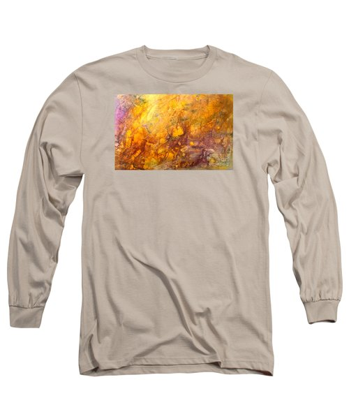 Letting The Sunshine In Long Sleeve T-Shirt by Valerie Travers