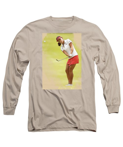 Lexi Thompson Chips To The First Green  Long Sleeve T-Shirt
