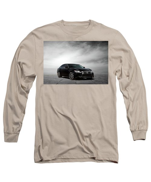 Long Sleeve T-Shirt featuring the digital art Lexus Gs350 F Sport by Peter Chilelli
