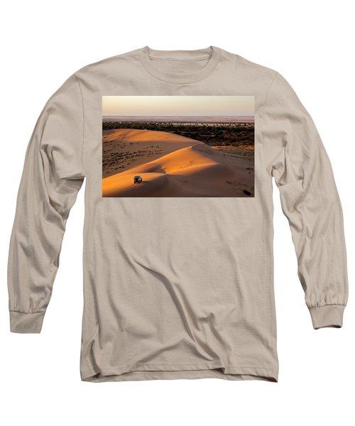 Life As Opening Long Sleeve T-Shirt by Evgeny Vasenev