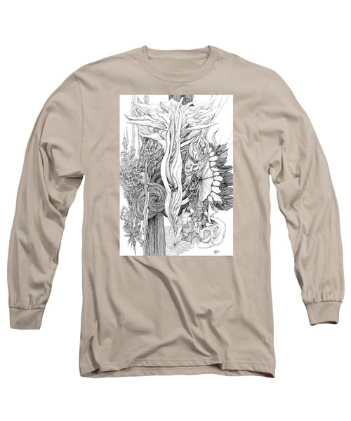 Life Force Long Sleeve T-Shirt by Charles Cater