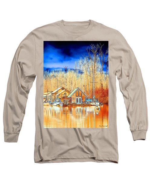 Life On The River Long Sleeve T-Shirt by Steve Warnstaff