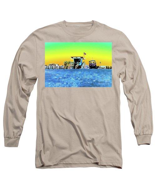 Lifeguard Tower 1 Long Sleeve T-Shirt