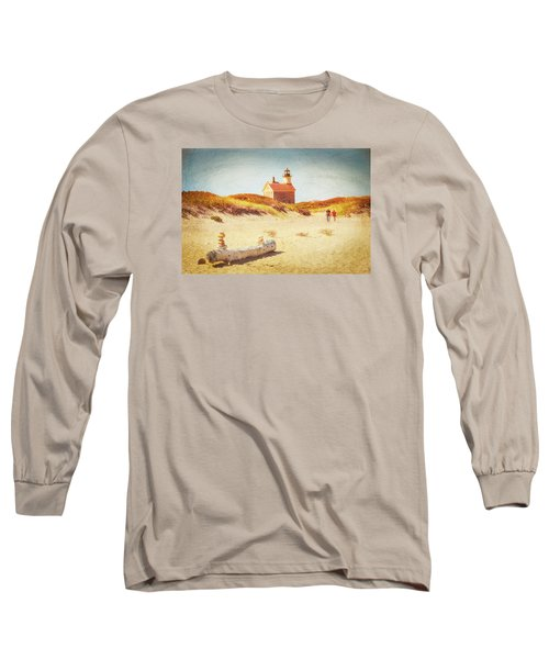 Lifes Journey Long Sleeve T-Shirt by Karol Livote