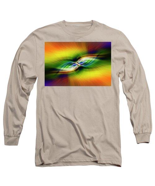 Light Abstract 9 Long Sleeve T-Shirt