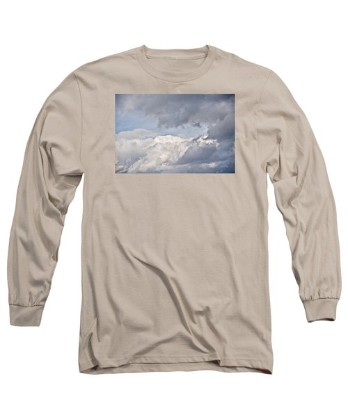 Long Sleeve T-Shirt featuring the photograph Light And Heavy by Wanda Krack