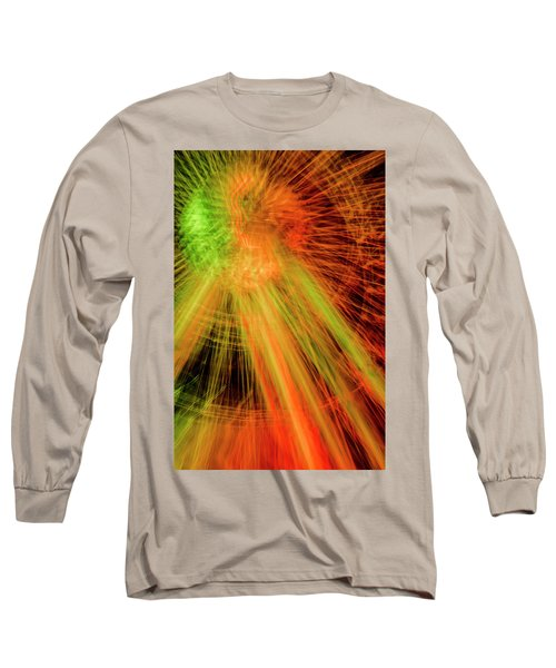 Light Painting At Night Long Sleeve T-Shirt