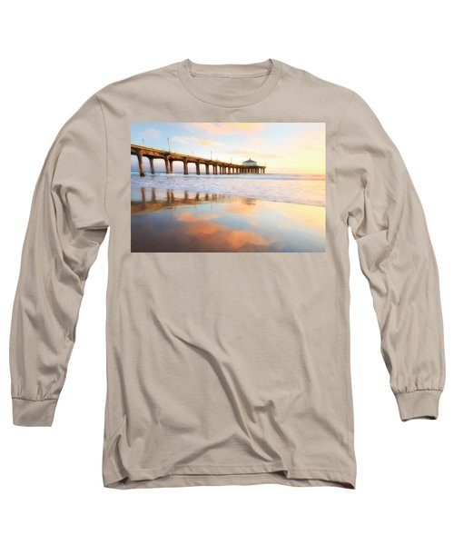 Light Reflections Long Sleeve T-Shirt by Nicki Frates