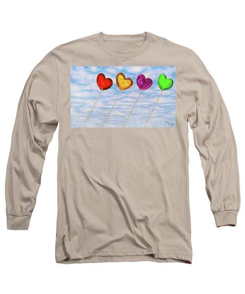 Lighter Than Air Long Sleeve T-Shirt
