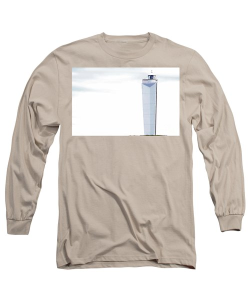 Long Sleeve T-Shirt featuring the photograph Lighthouse At Cape Jervis by Stephen Mitchell
