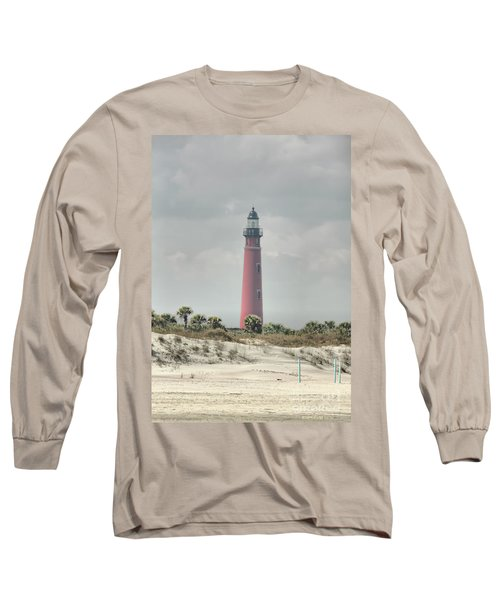 Lighthouse At Ponce Inlet Long Sleeve T-Shirt
