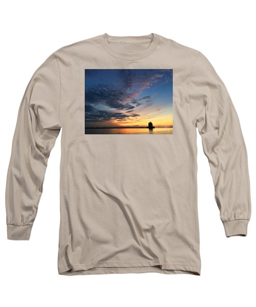 Lighthouse In Lorain Long Sleeve T-Shirt