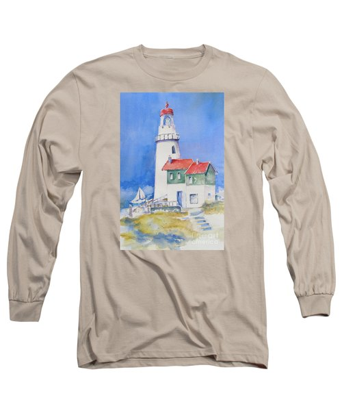 Lighthouse Long Sleeve T-Shirt by Mary Haley-Rocks