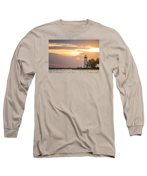 Long Sleeve T-Shirt featuring the photograph Lighting The Way by Andy Crawford