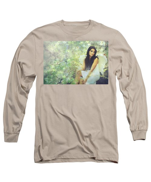 Long Sleeve T-Shirt featuring the photograph Lightness by Laurie Search