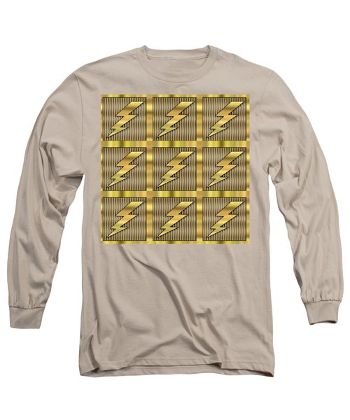Lightning Bolt Group - Transparent Long Sleeve T-Shirt by Chuck Staley