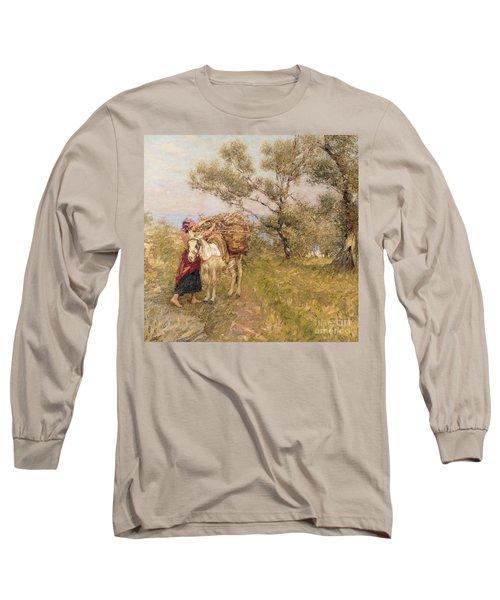 Ligurian Olives Long Sleeve T-Shirt