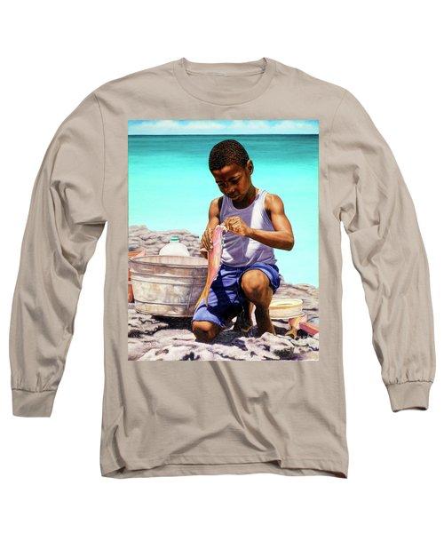 Lil Fisherman Long Sleeve T-Shirt