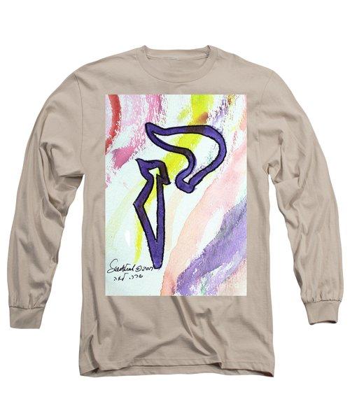 Lilac Kuf Long Sleeve T-Shirt