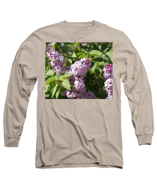 Long Sleeve T-Shirt featuring the photograph Lilacs 5544 by Antonio Romero