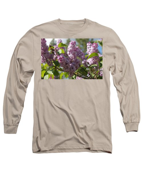 Long Sleeve T-Shirt featuring the photograph Lilacs 5548 by Antonio Romero