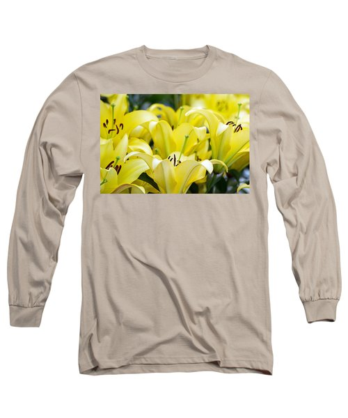 Lilies Of The Field #2 Long Sleeve T-Shirt