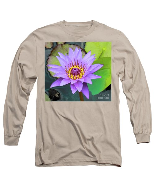 Lilly In Purple  Long Sleeve T-Shirt