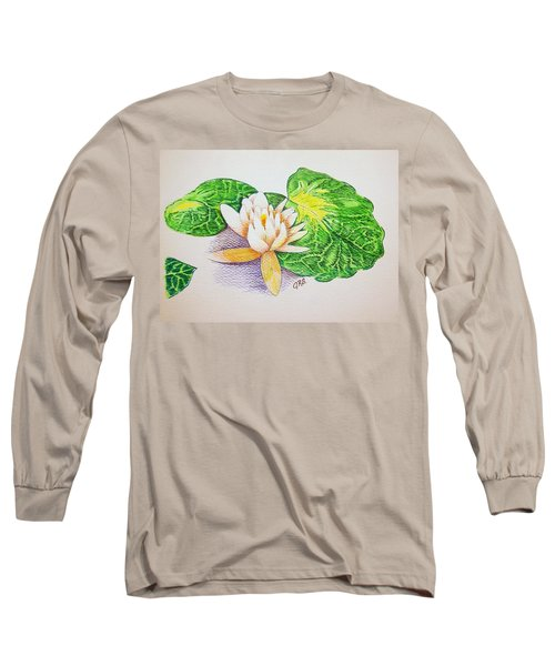 Lily Pad Long Sleeve T-Shirt by J R Seymour