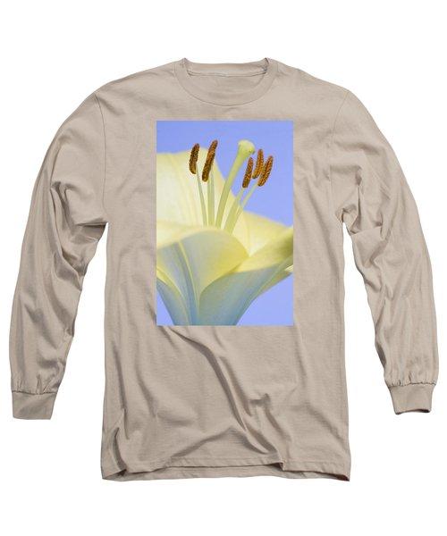 Lily Stamens  Long Sleeve T-Shirt
