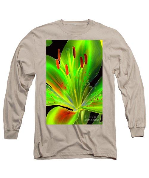 Lime Twist Long Sleeve T-Shirt