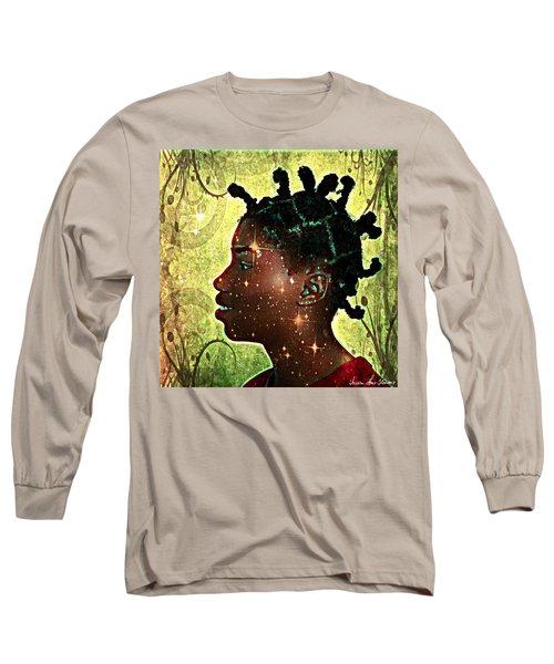 Limitless Long Sleeve T-Shirt by Iowan Stone-Flowers
