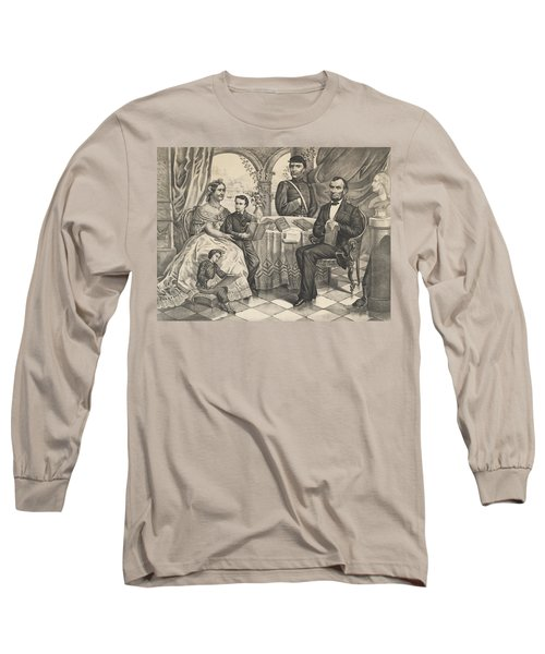Lincoln And His Family Long Sleeve T-Shirt
