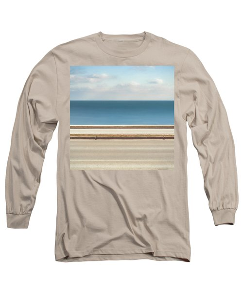 Lincoln Memorial Drive Long Sleeve T-Shirt by Scott Norris