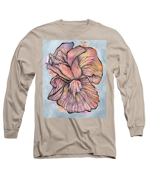 Lines And Layers Long Sleeve T-Shirt