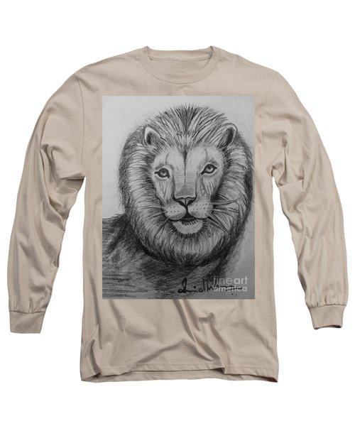 Lion Long Sleeve T-Shirt by Brindha Naveen