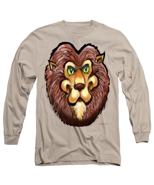 Lion Long Sleeve T-Shirt by Kevin Middleton