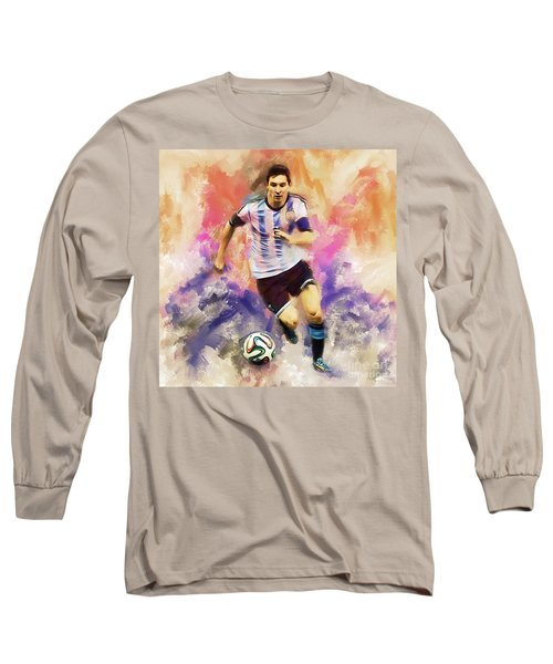 Lionel Messi 094c Long Sleeve T-Shirt