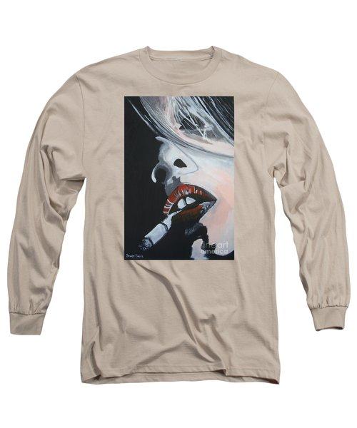 Lips Like Cherries Long Sleeve T-Shirt by Stuart Engel