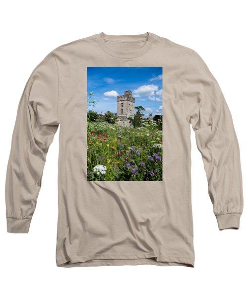Lismore Castle Gardens Long Sleeve T-Shirt by Martina Fagan