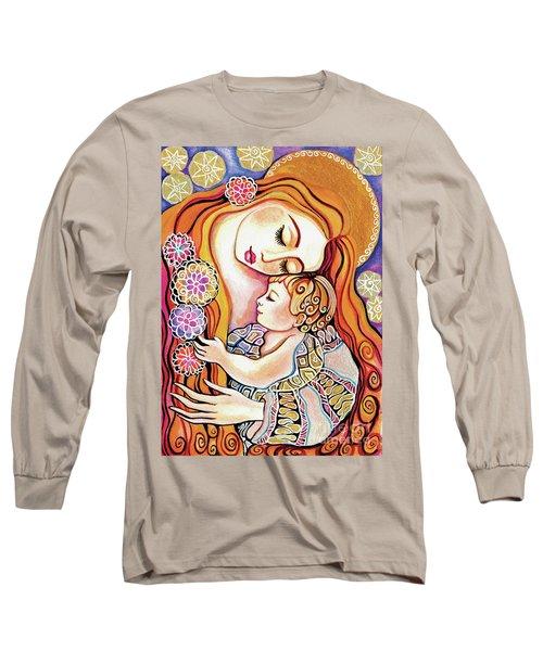 Little Angel Sleeping Long Sleeve T-Shirt
