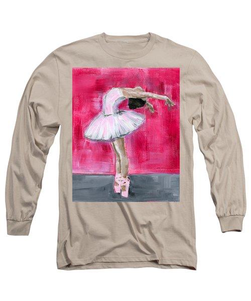 Little Ballerina #2 Long Sleeve T-Shirt