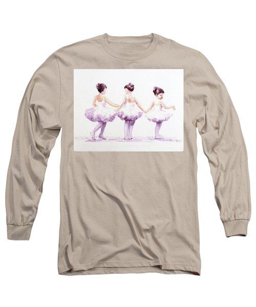 Little Ballerinas-3 Long Sleeve T-Shirt