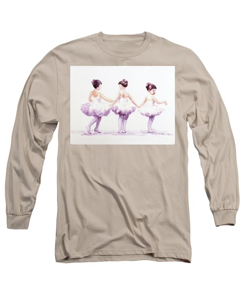 Little Ballerinas-3 Long Sleeve T-Shirt
