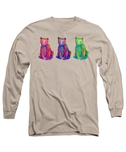 Little Bears Long Sleeve T-Shirt by Teresa Ascone