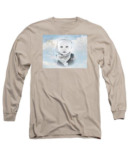 Little Boy Blue Long Sleeve T-Shirt by Karen Lewis
